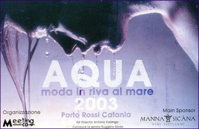 Aqua 2003