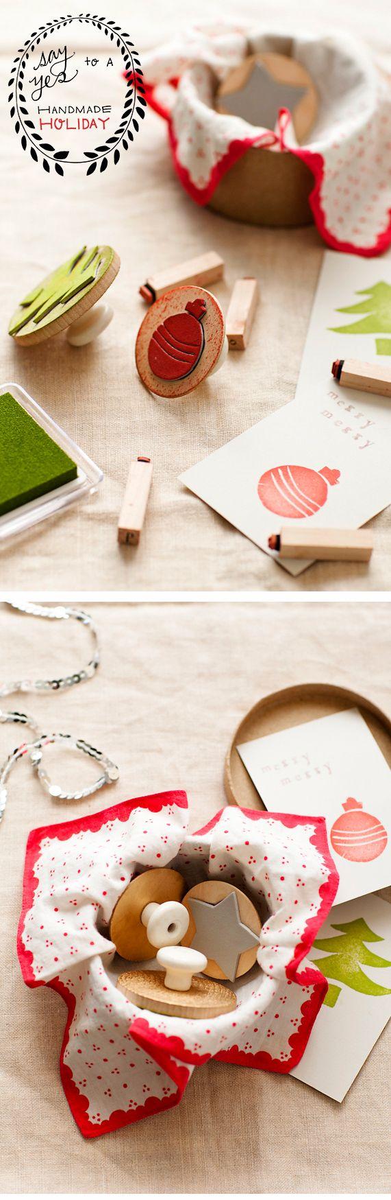 DIY: homemade stamps