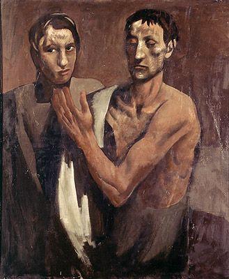 Mario Sironi, Due Figure, 1926 – 1927