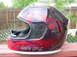 Marvin The Martian Motorcycle Helmet
