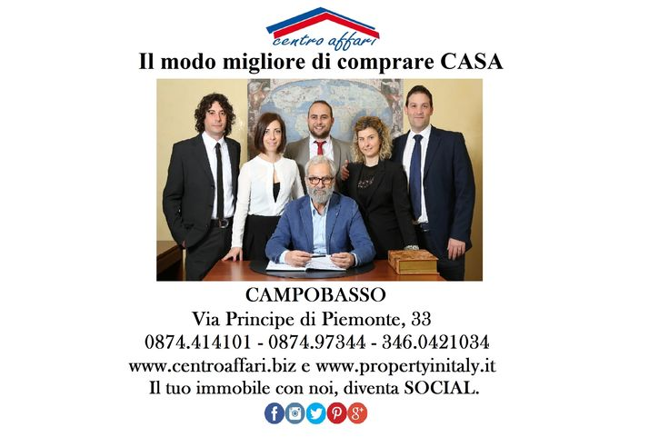 The Agency Business Center takes care of the property purchase in all aspects of providing technical assistance contract until the deed. Its customers are those who have to sell and rent properties. Having settled with the best banking institutions, also offers a wide choice of soft loans. The holder Dott. Antonio Di Vita and the entire agency's staff are waiting at the office in Via P. di Piemonte n. 33, to make and meet your every need. Translator by Google