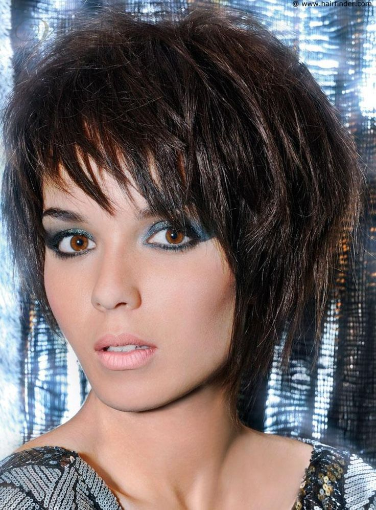 Fashionable Hot Hairstyle Short Layered Straight 100% ...