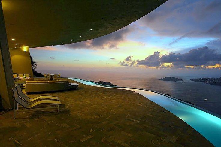 Between Heaven & Earth — Arango-Marbrisa House By John Lautner « Faustian urGe