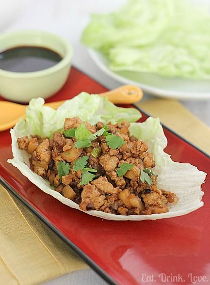 Copycat P.F. Chang's Chicken Lettuce Wraps...Just like the popular dish from P.F. Chang's!