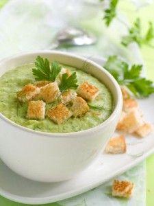 Crema de espinacas de las recetas que me gustan: sencillas y deliciosas.
