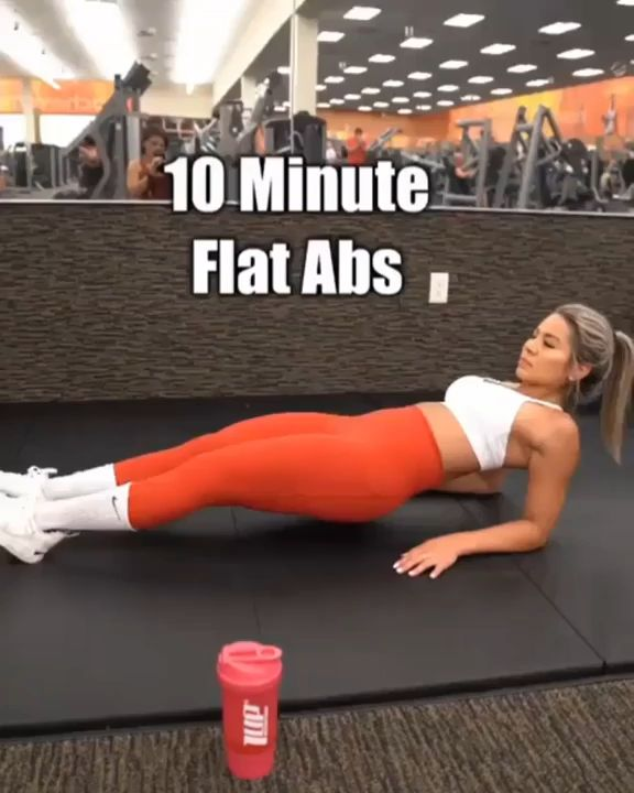 10-Minute No-Equipment Flat-Belly Workout   – Workout