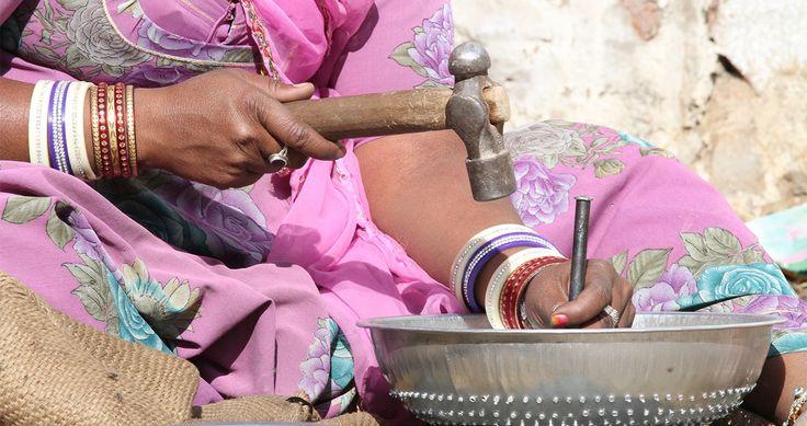 Reisfoto's: portretten van sterke vrouwen in India