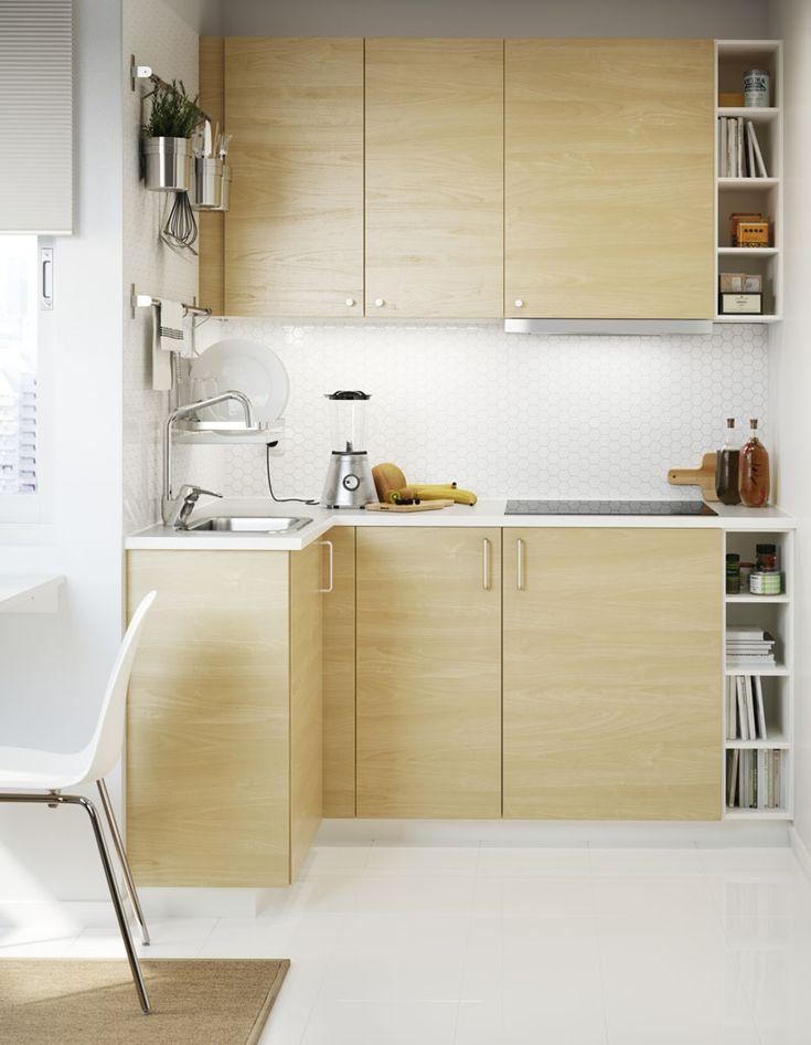 Die besten 25+ Studio Kochnische Ideen auf Pinterest Kleine - halter f r k chenrollewohnzimmer fliesen beige matt