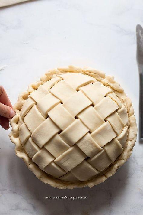 Intreccio perfetto per Crostate e Pie : Tutorial passo passo