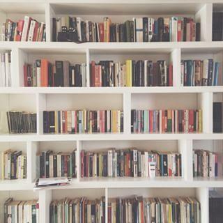 Quando você visita a casa de um companheiro de leitura e gravemente sofre de inveja da estante. | 29 imagens que somente amantes de livros vão compreender