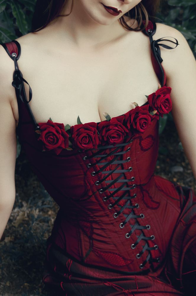 Rose Corset by Forge Fashion