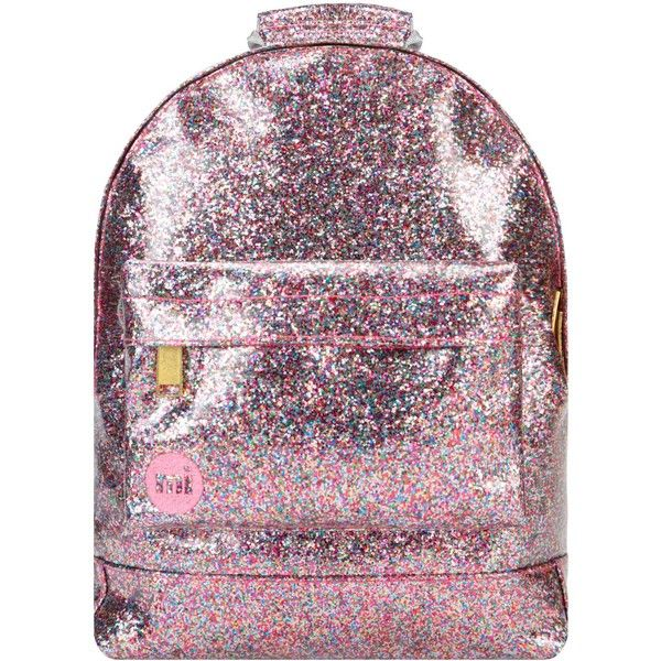 1c7058c7197207 Mi-Pac Mini Glitter Backpack ( 45) ❤ liked on Polyvore featuring bags