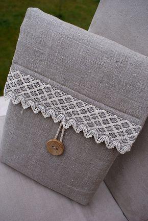 Sleeve from linen... by SandraStJu, via Flickr
