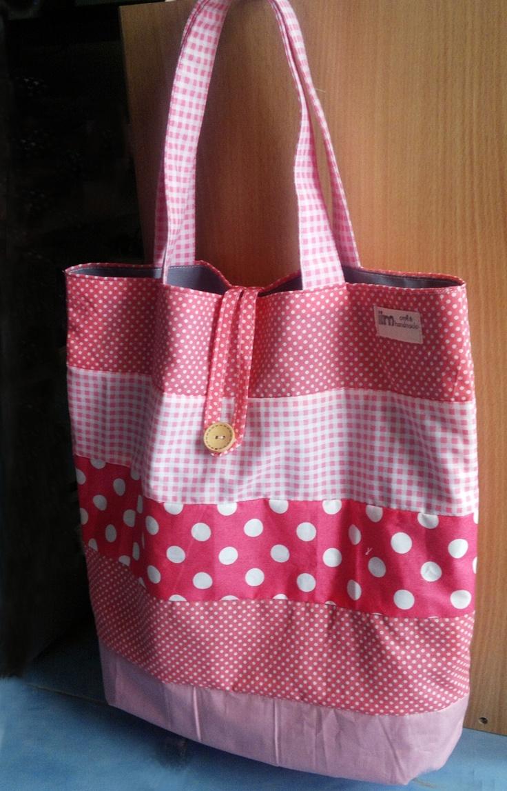 "Bag  Size H15xW15"" by Moonpolkadot"
