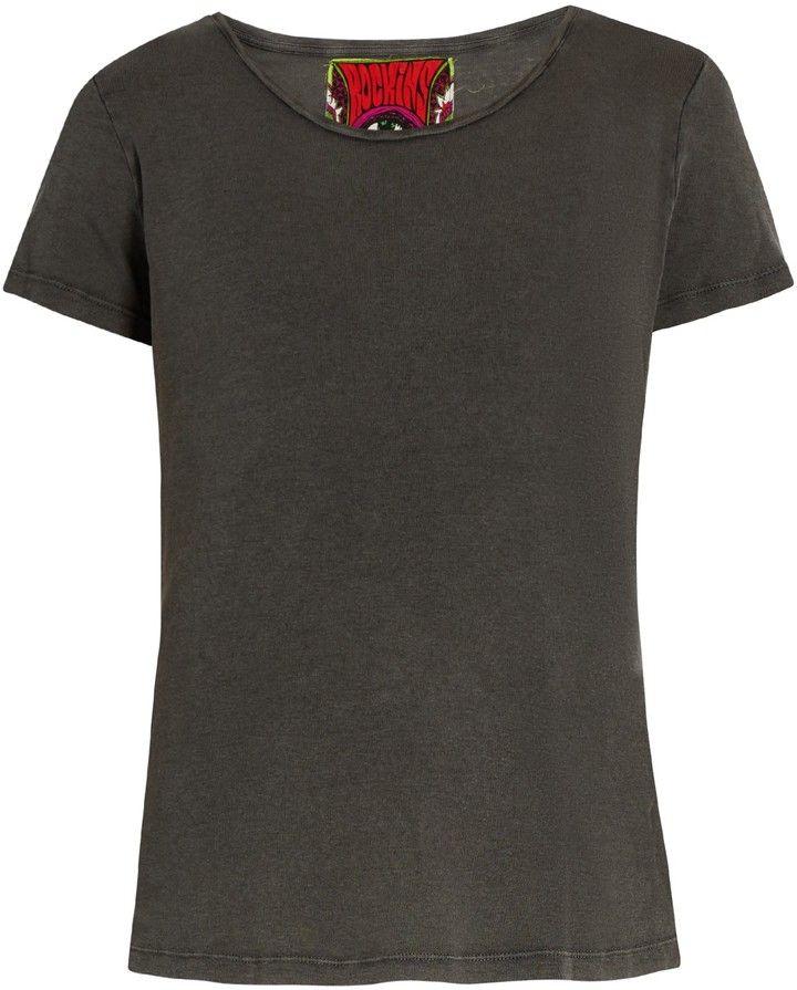 ROCKINS Short-sleeved cotton T-shirt