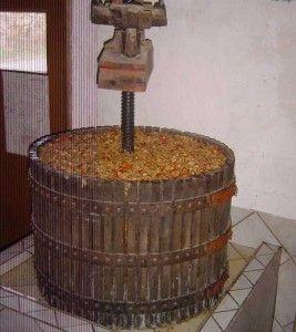 fabrication du cidre : Pressoir à cidre