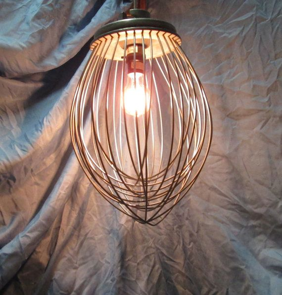 Hey, I found this really awesome Etsy listing at https://www.etsy.com/listing/161382979/industrial-whisk-lighting-upcycled