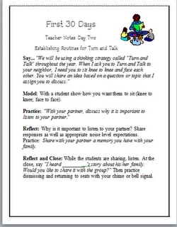 Classroom Freebies Too: Routines for Turn and Talk: Upper Grade, Turn And Talk, Grade Ideas, Classroom Freebies, Teaching Turn, Schools Ideas, 5Th Grade, September Ideas, Classroom Ideas