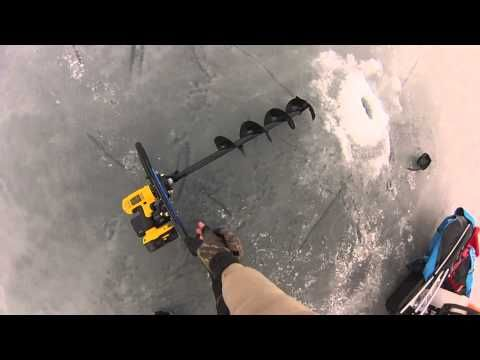 Best Clam Ice fishing plate for electric auger extension with power drill
