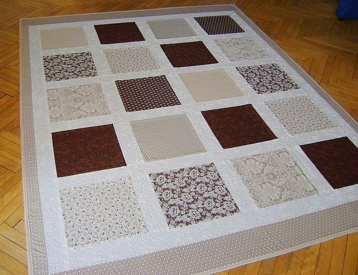 deka v béžovo-hnedých tónoch, rozmer 150x200 cm