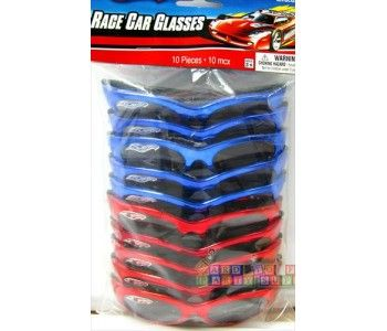 Hot Wheels 'Speed City' Race Car Glasses / Favors  (10ct)
