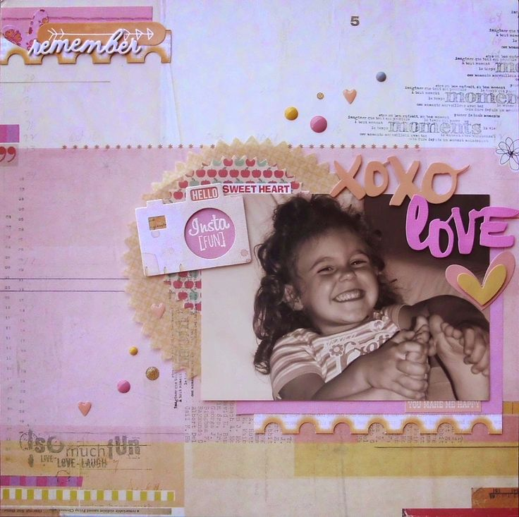 Amiche di Scrap: sfida Layout #9 - Sabina