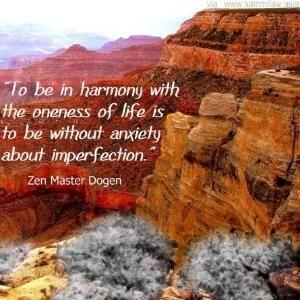 Advice re: harmony via Zen Master Dogen by goldie