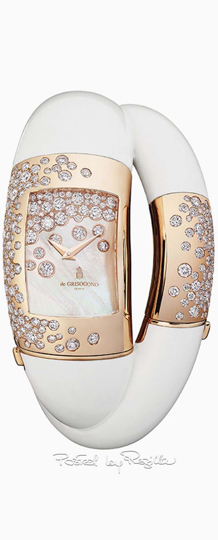 Rosamaria G Frangini | High WATCHES Jewellery  | White