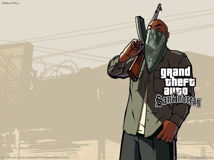 Grand Theft Auto San Andreas Wallpapers Wallpaper Cave