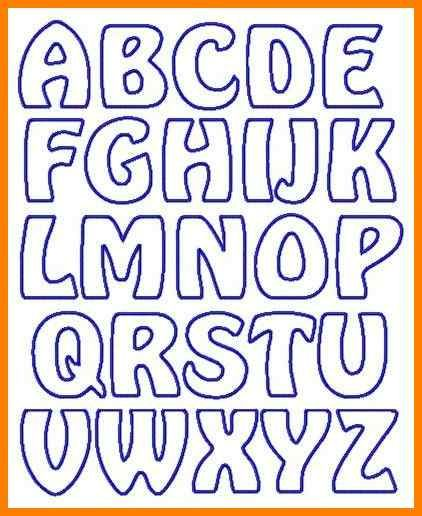 image regarding Free Printable Cut Out Letters for Posters called free of charge-printable-letter-stencils-suitable-letter-stencils-photographs
