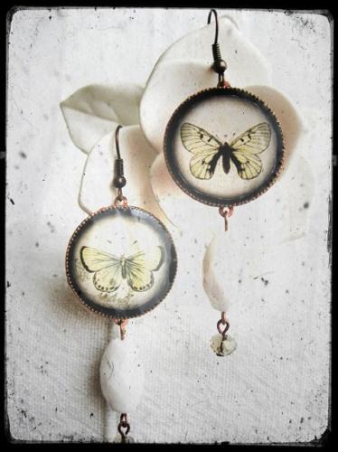 orecchini in resina ButterFlies art. 90
