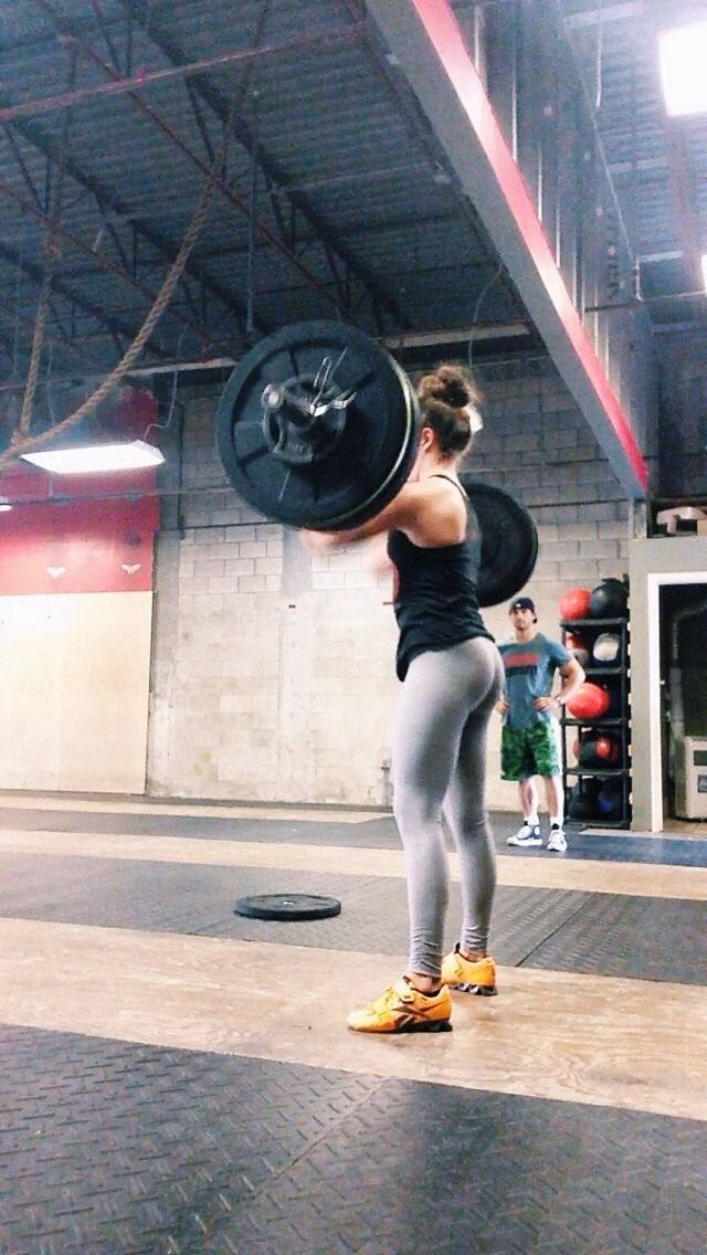 """running-crossfitting-life: """" Heavy cleans today were much needed after this stressful week """""""