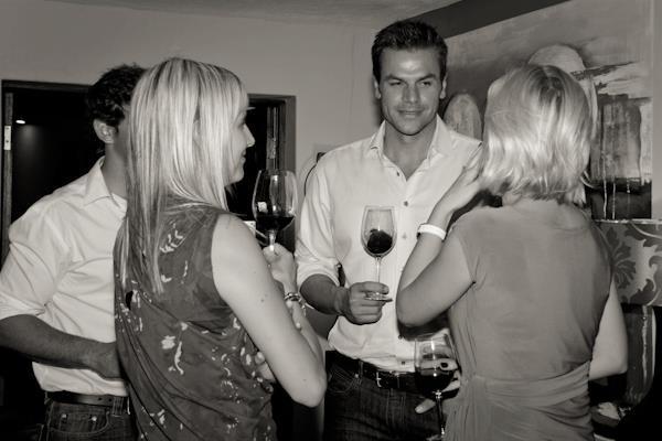 Ryk Neethling presenting Val de Vie at Pretoria.co.za wine tasting.
