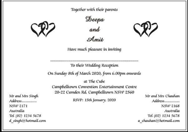 21 Beautiful Wedding Card Invitation Wordings Sinhala Ph In 2020 Traditional Wedding Invitation Wording Wedding Reception Invitations Indian Wedding Invitation Wording