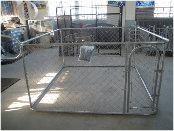 Pet enclosure dog kennel run animal fencing fence sheep for Chicken enclosure ideas