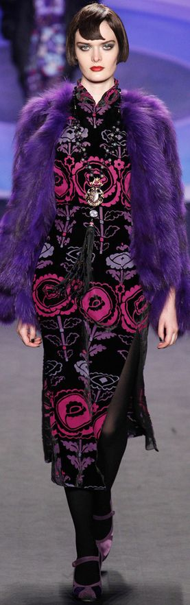 Anna Sui Fall 2014                                                                                                                                                                                 More