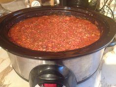 Sauce à spaghetti consistante à la Sonia (mijoteuse)
