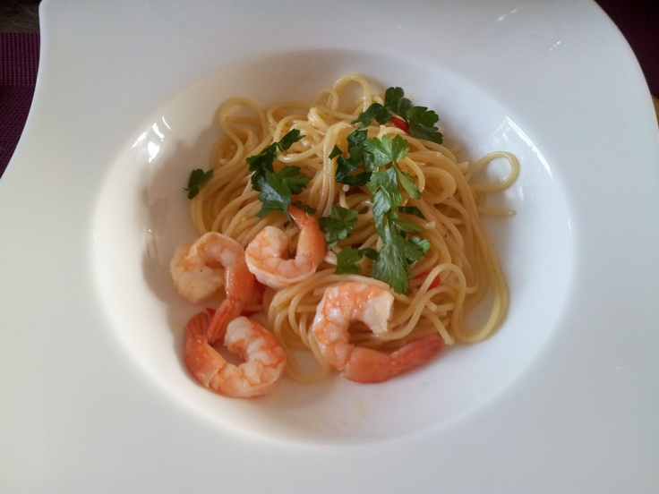Hobbykok Pluis: Zomerse spaghetti met garnalen