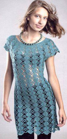 *Легендарное платье Кайли Миноуг. - Все в ажуре... (вязание крючком) - Страна Мам