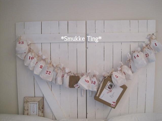 *Smukke Ting*: DIY-Adventskalender + Adventswichtel