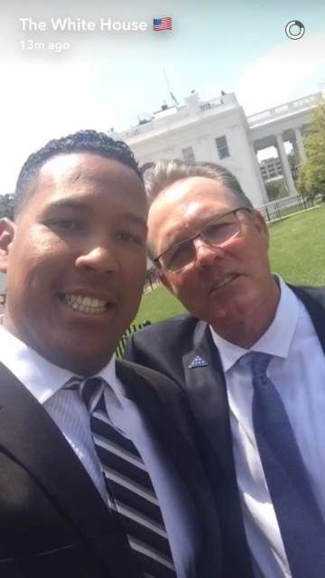 salvy and yost at white house