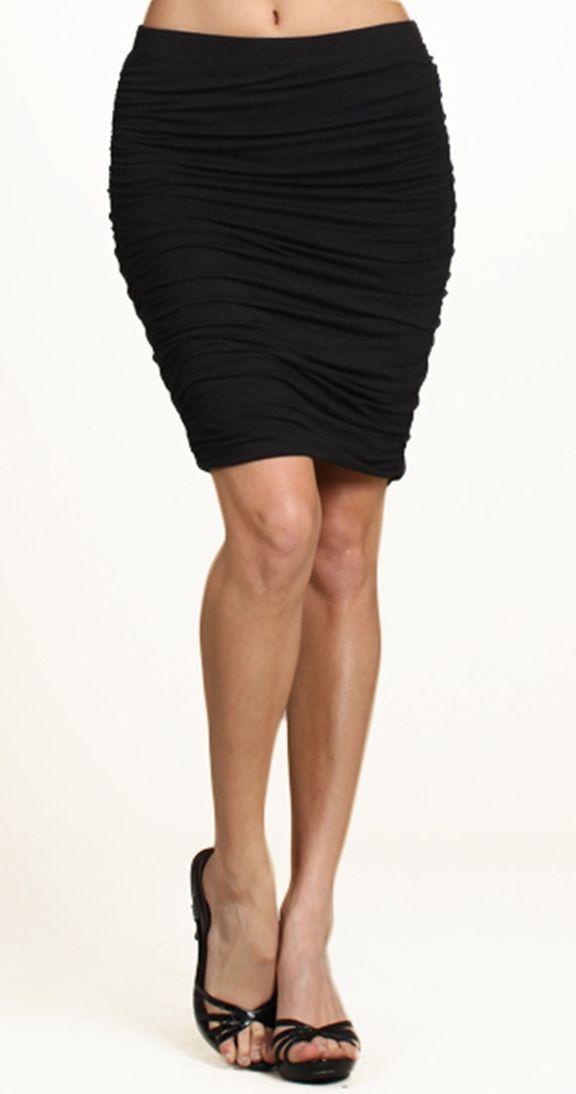 love a great pencil skirt! www.silvericing.com/lauramackinnon