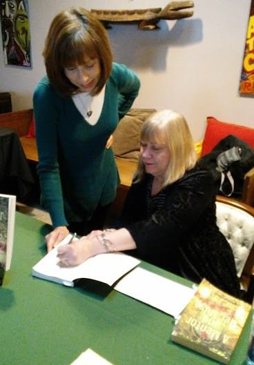 Despite the snow it was a fun and intimate time last Saturday at Totem Books for Susan Sage's first book launch release for her novel #AMentorAndHerMuse. Thank you to Bridgette, who catered the event, and everyone who braved the weather to celebrate Susan's book! #books #Flint