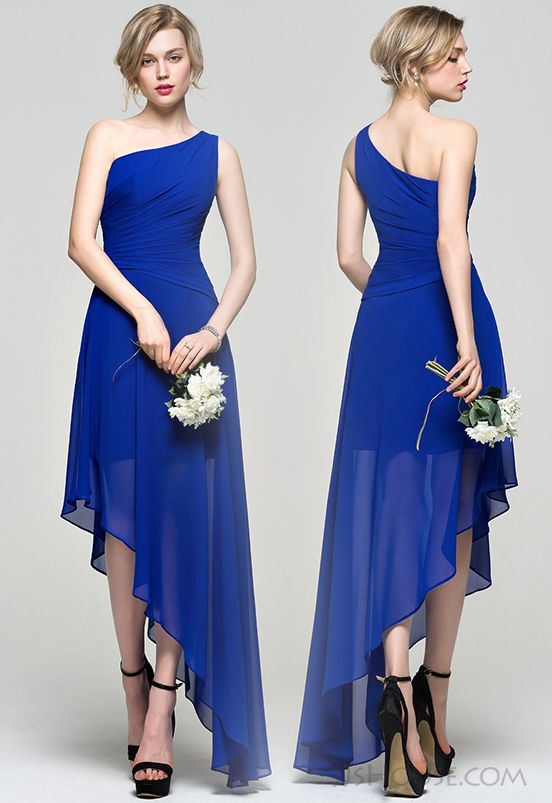 Asymmetrical Bridesmaid dress. #JJsHouseBridesmaidDress