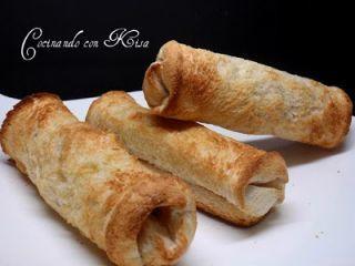 Rollitos de anchoas y queso en pan de molde, Receta Petitchef