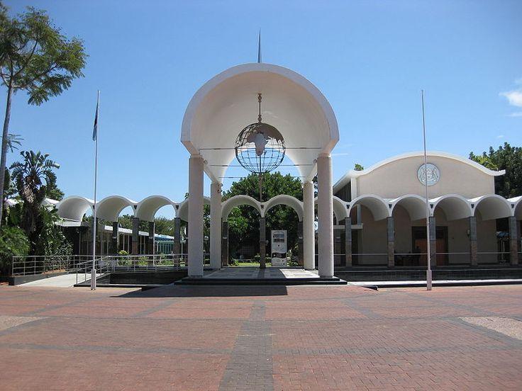 House of Parliament, Gaborone, Botswana