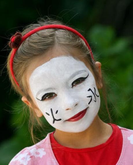 Maquillage de petite chinoise - Activité manuelle et bricolage pour enfant