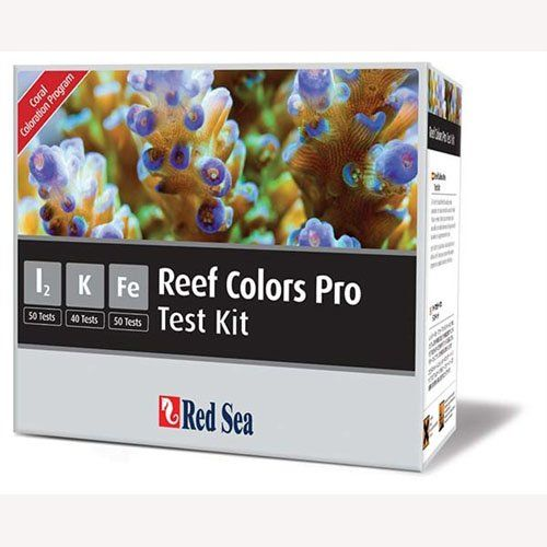 Red Sea Fish Pharm ARE21515 Saltwater Reef Color Pro Multi Test Kit for Aquarium >>> More info could be found at the image url.