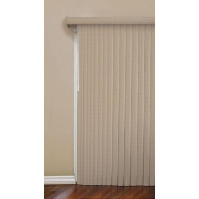 designview Mosaic-Tan Vertical Blind 3.5 in. Vanes (Price Varies by Size)-10793478805686 at The Home Depot