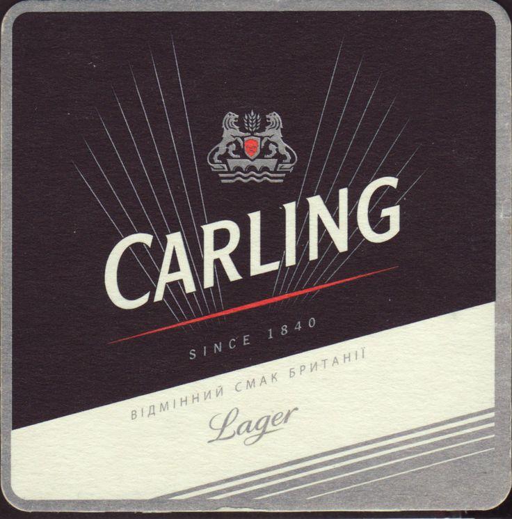 Image result for carling beer mats